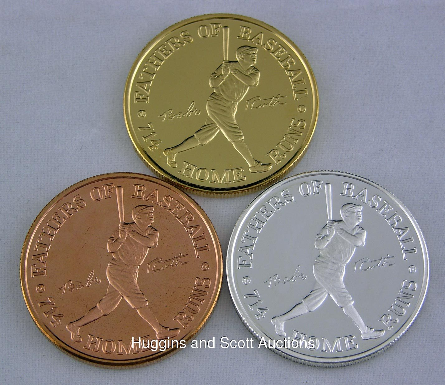 Babe Ruth Centennial 3 Coin Proof Set