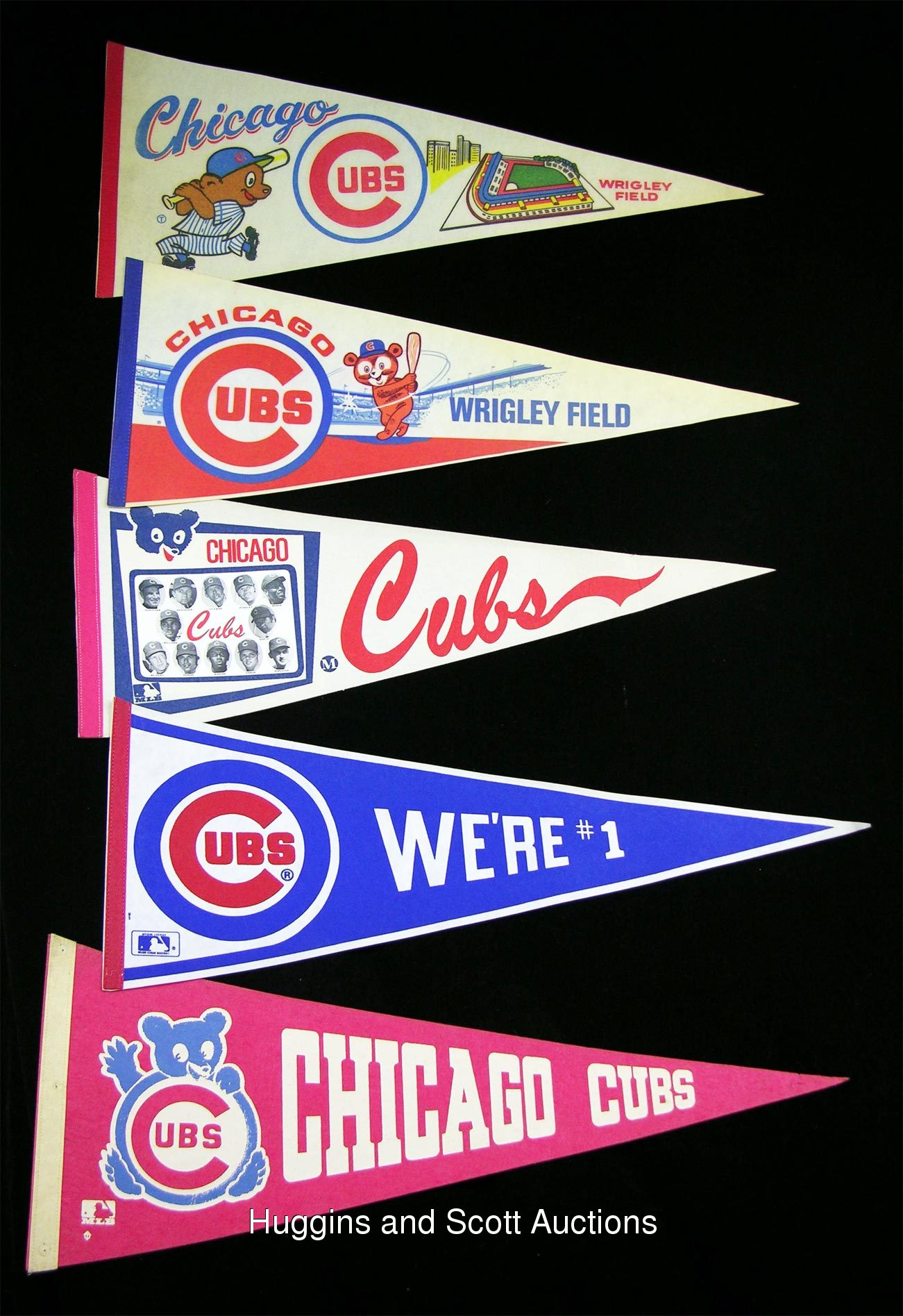 vintage chicago cubs pennants